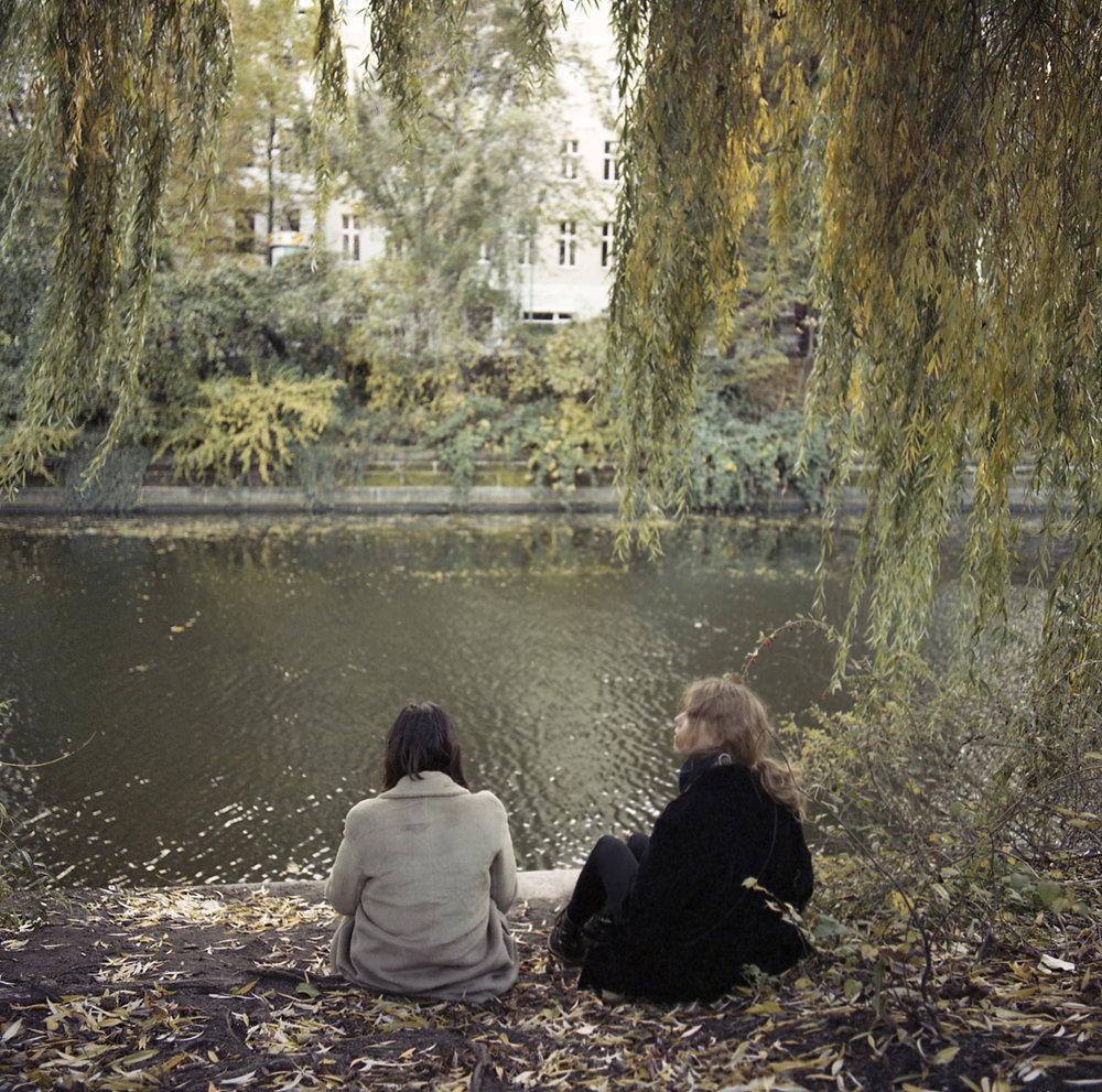 Ana and Ten, Landwehrkanal, Berlin, 2016