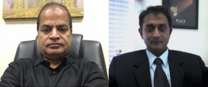 Gokul Nair, President, Zig Zag, Inc.   (left)     Srikanth Ranganthan, CFO, Zig Zag, Inc.   (right)