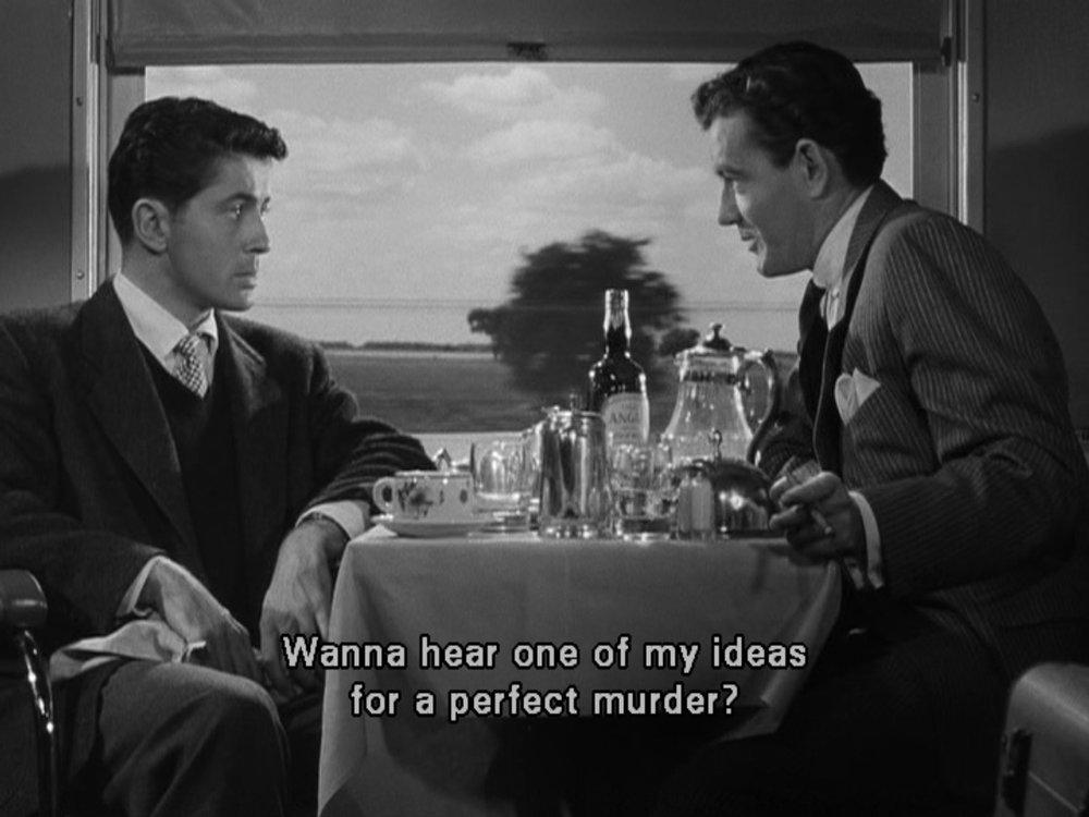 """Strangers on a Train"" (1951)"