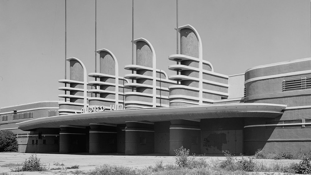 Hollywood's Pan Pacific Auditorium