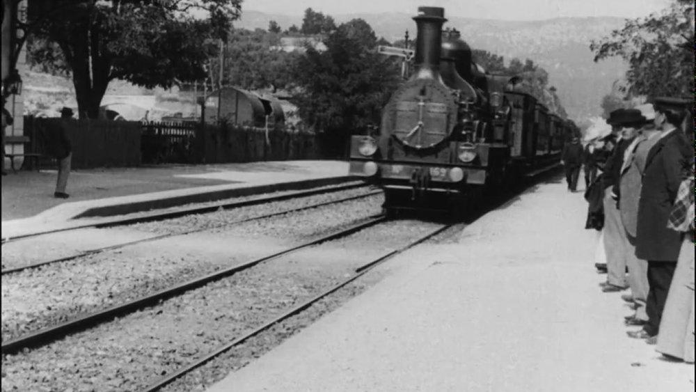 """L'arrivée du train en gare de La Ciotat"" (1895)"