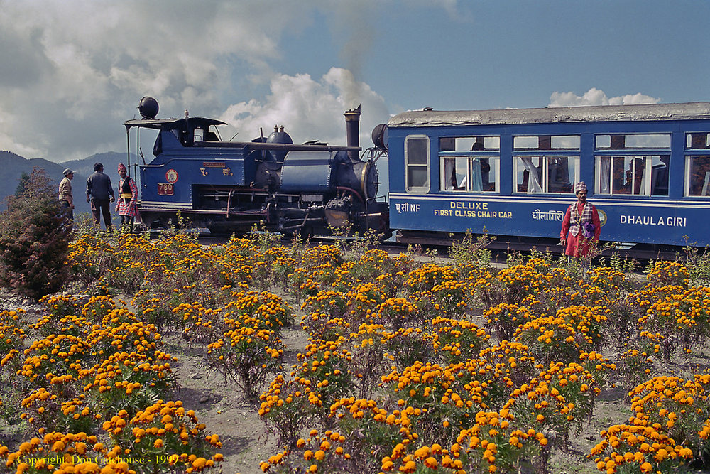 "il ""Toy Train"", Darjeeling Himalayan Railway, Bengala occidentale."