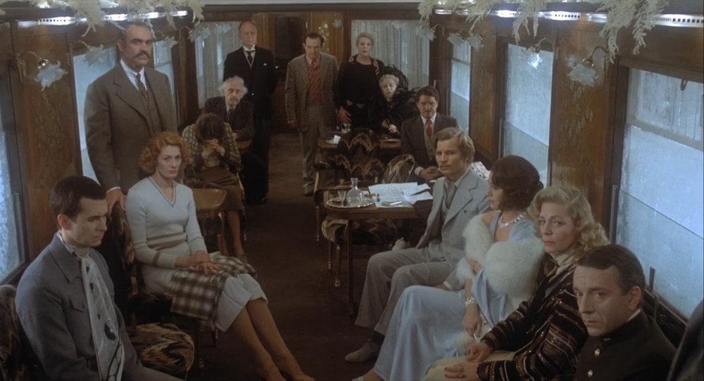 """""""Assassinio sull'Orient Express"""" (1974)."""