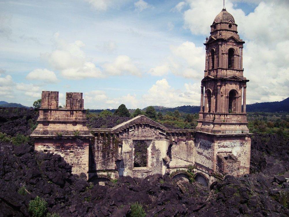 San Juan Parangaricutiro, Michoacan. Foto di : Copatbark/Flikr.