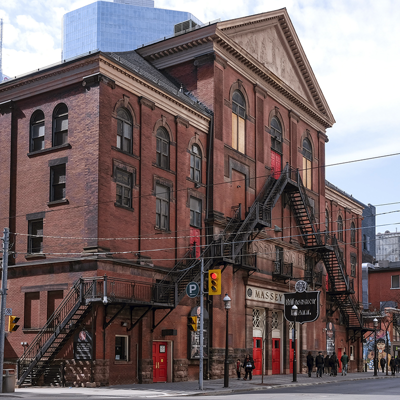 La Massey Hall di Toronto, Canada.