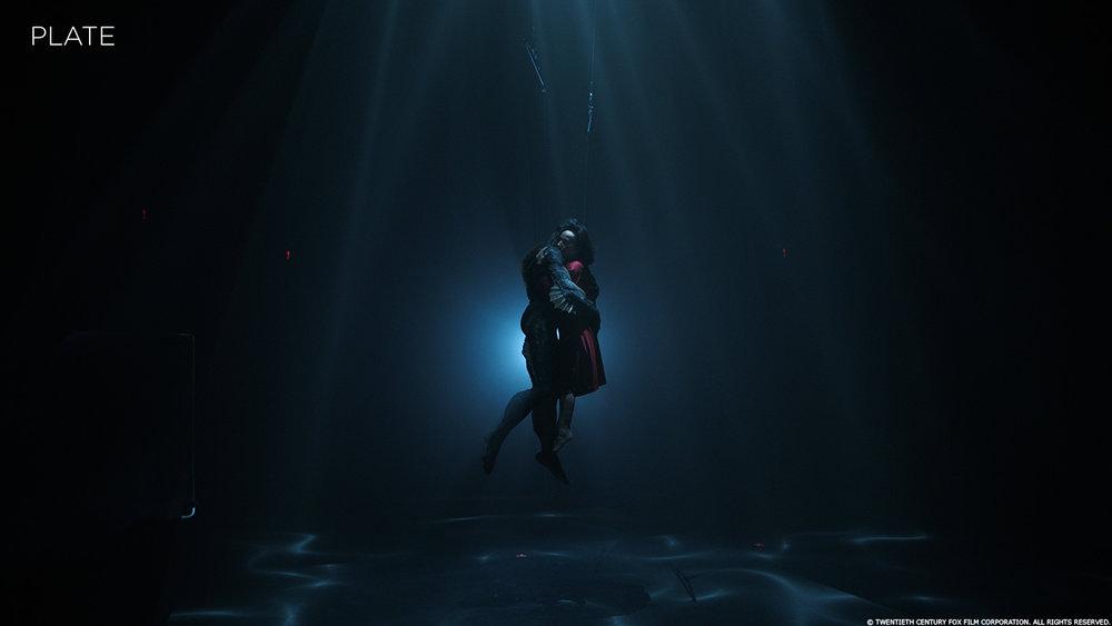 """The Shape of Water""  (2017). Immagine senza effetti visivi. Da: www.artofvfx.com"