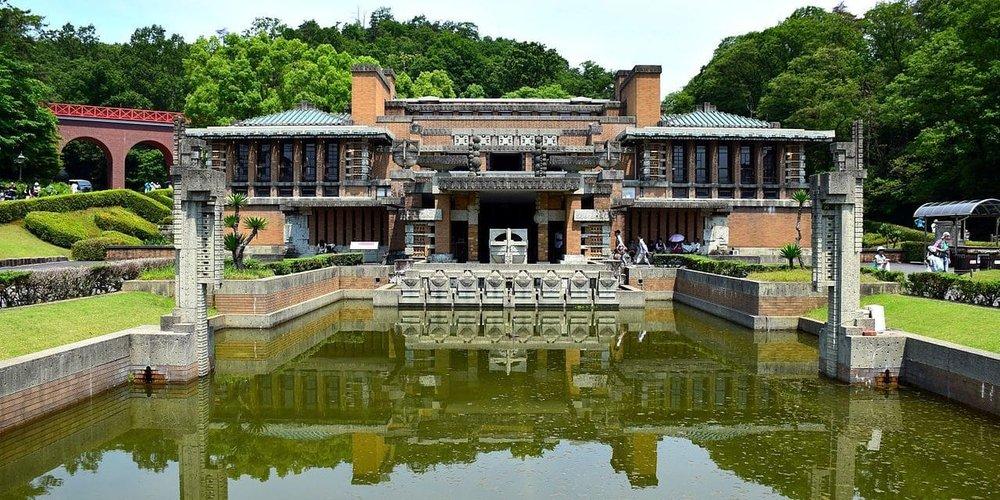 The Imperial Hotel oggi, presso il Meiji-mura Museum di Inuyama.