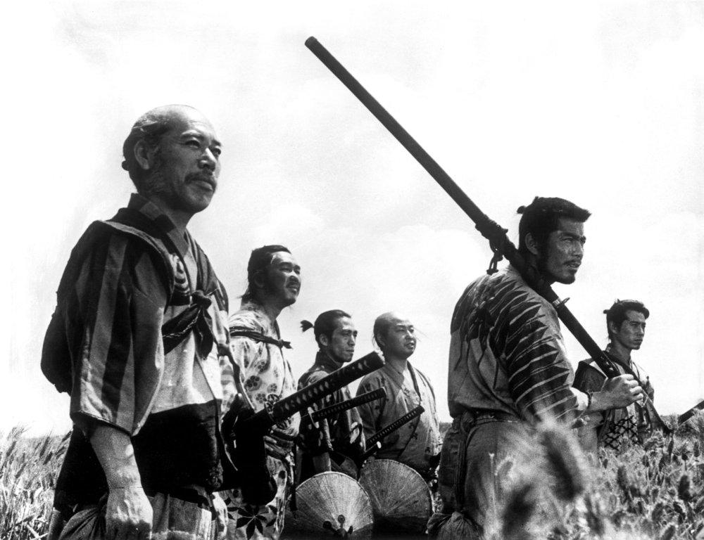 """"""" I Sette Samurai """" (1954)di Akira Kurosawa"""