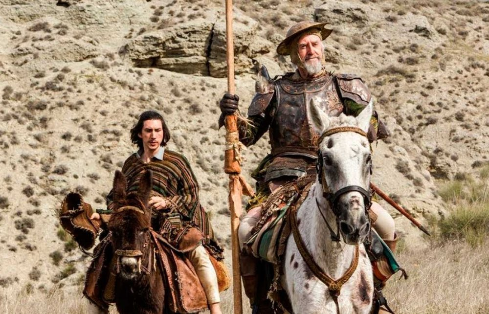 The Man Who Killed Don Quixote (2018) di Terry Gilliam