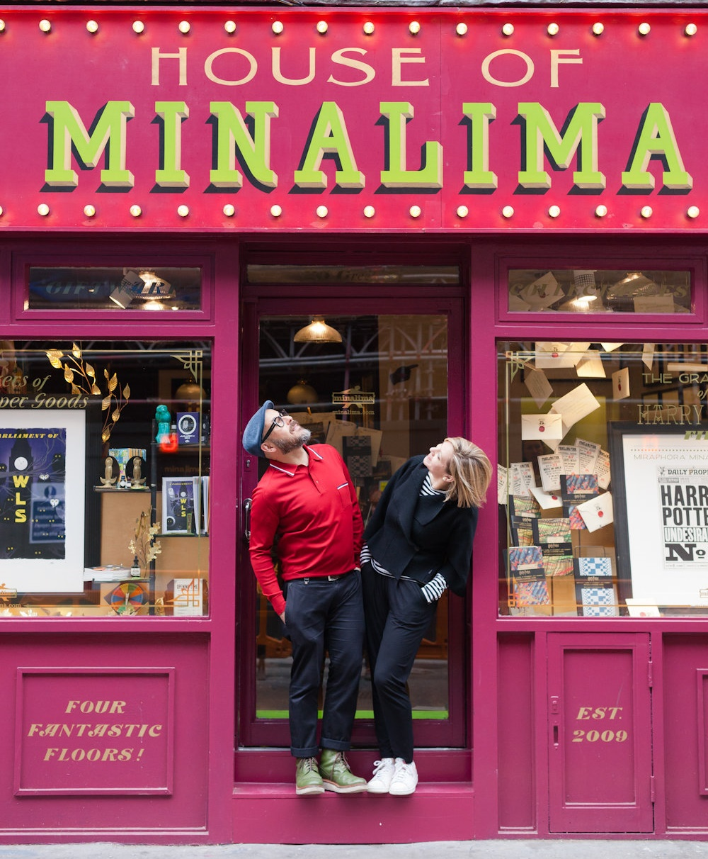 Eduardo Lima e Miraphora Mina, House of MinaLima, Londra.