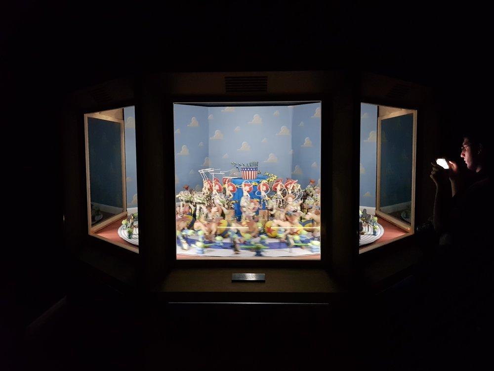 Zoetrope.   Pixar. 30 anni di animazione, Roma. Foto di Greta Cinalli