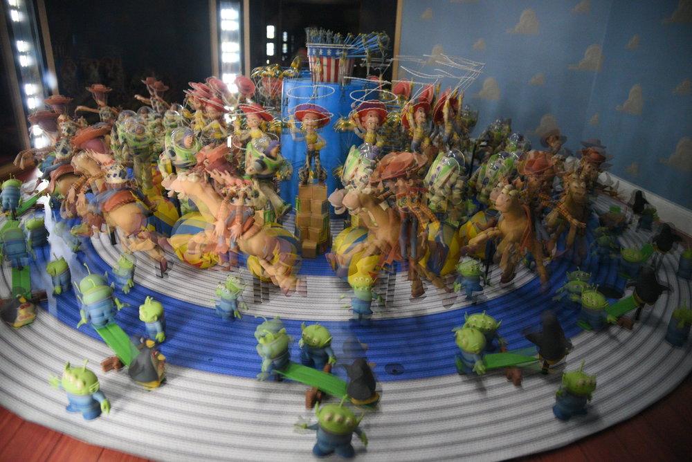 Zoetrope. Pixar. 30 anni di animazione, Roma. Foto di Valerio Greco