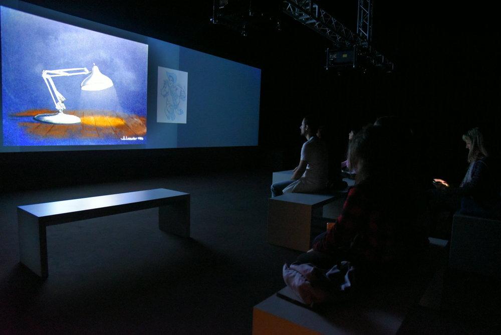 Artscape. Pixar. 30 anni di animazione, Roma. Foto di Valerio Greco