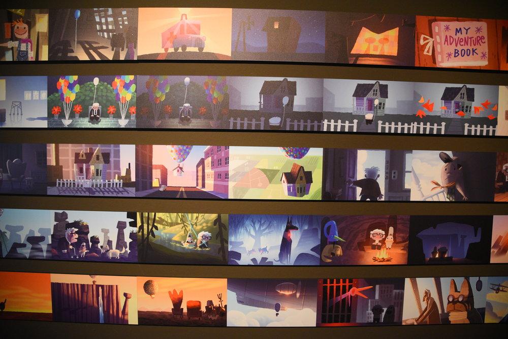 Pixar. 30 anni di animazione, Roma. Foto di Valerio Greco