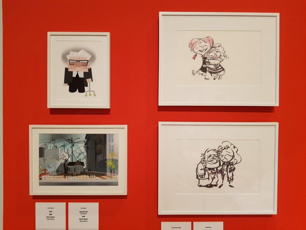 Pixar. 30 anni di animazione, Roma. Foto di Greta Cinalli