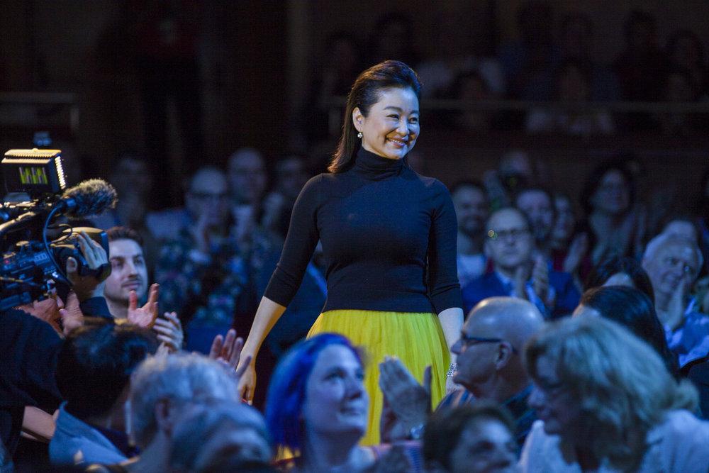 Brigitte Lin Ching Hsia. Far East Film Festival 20, Udine. Foto di Paolo Jacob