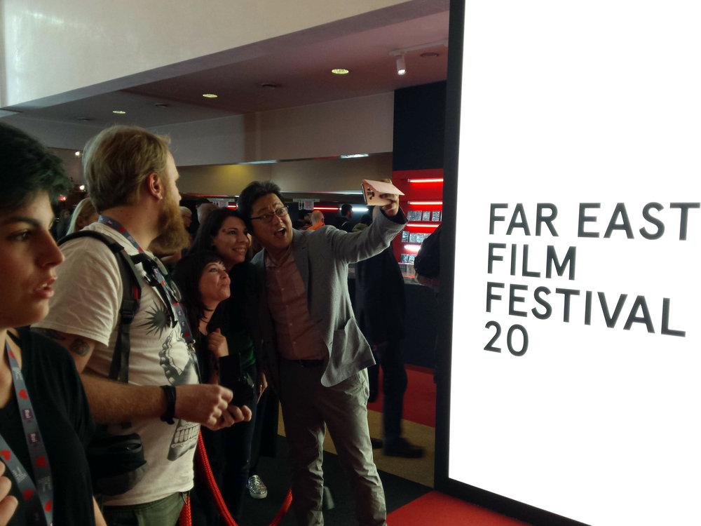 Kwak Do-won.   Far East Film Festival 20, Udine. Foto di Greta Cinalli