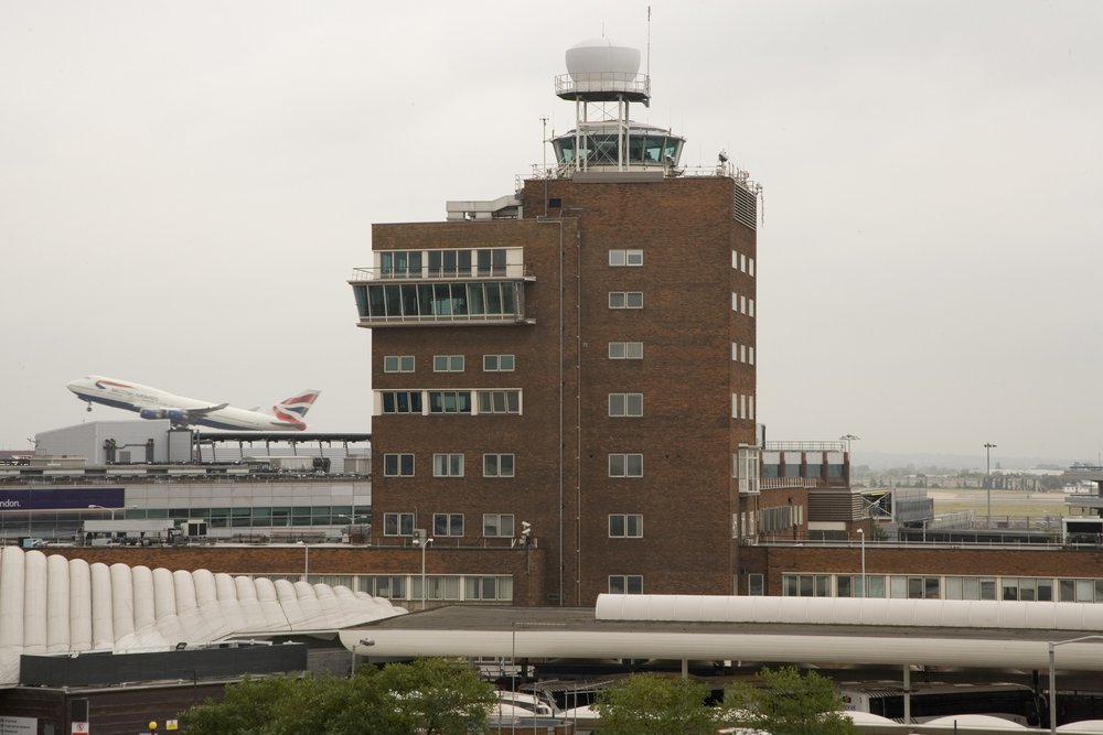 The old control tower.