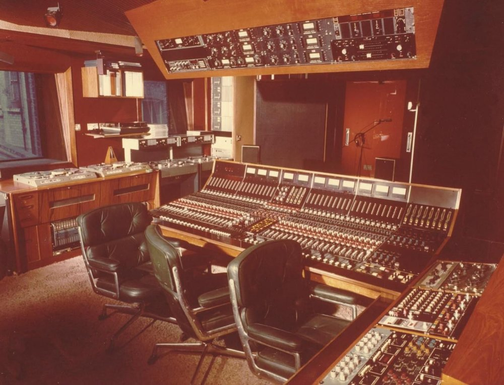 Trident Studios, 17 St. Anne's Court, Soho, London