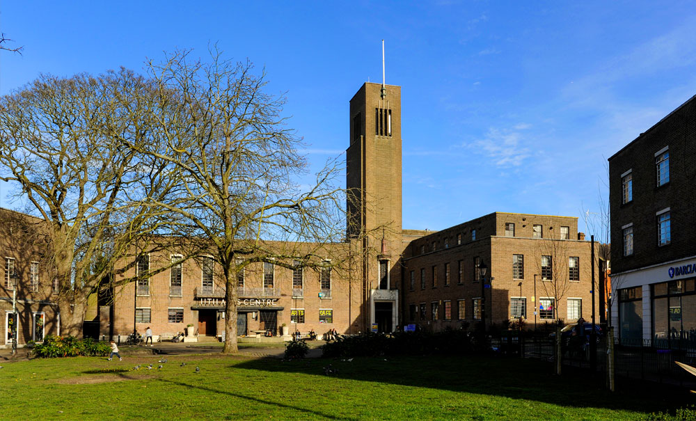 Hornsey Town Hall, The Broadway, Crouch End, London