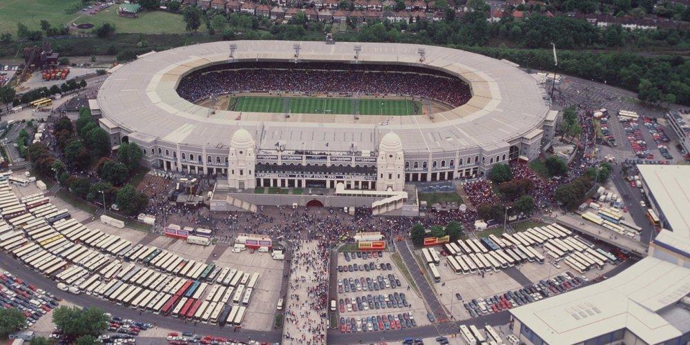 The original Wembley Stadium, London