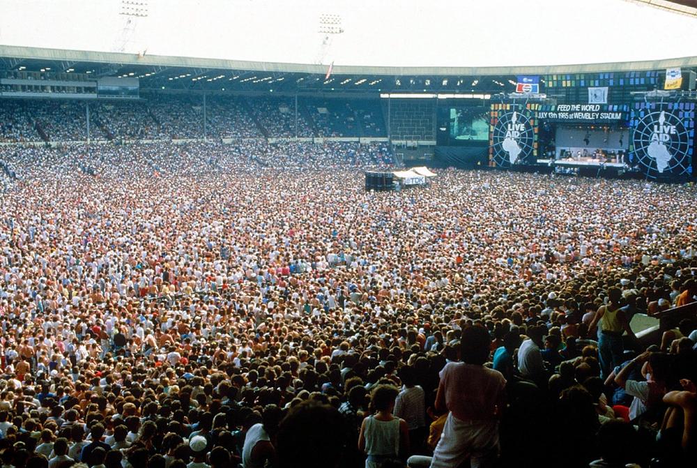 Live Aid 1985, Wembley Stadium, London