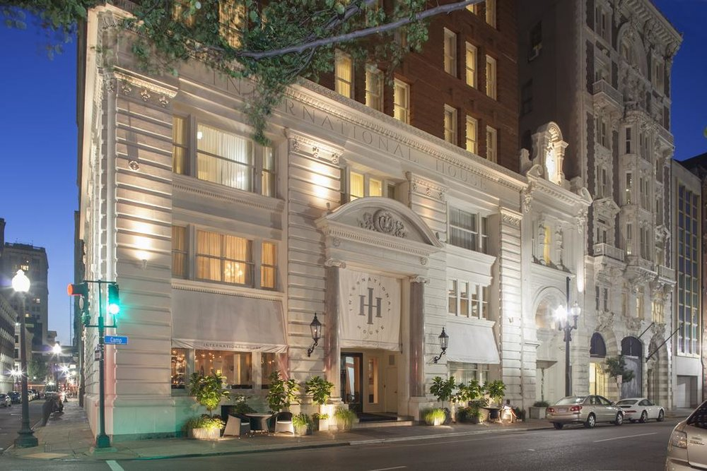 International House Hotel, 221 Camp Street, New Orleans