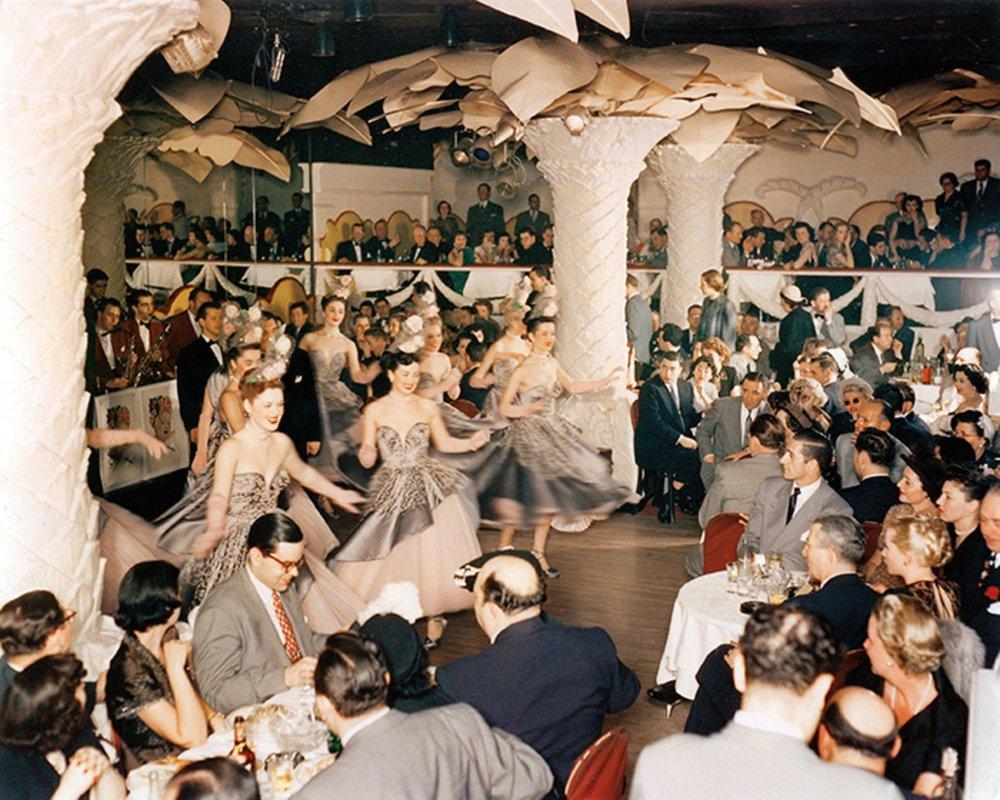 Il Copacabana negli anni '50. Photofest
