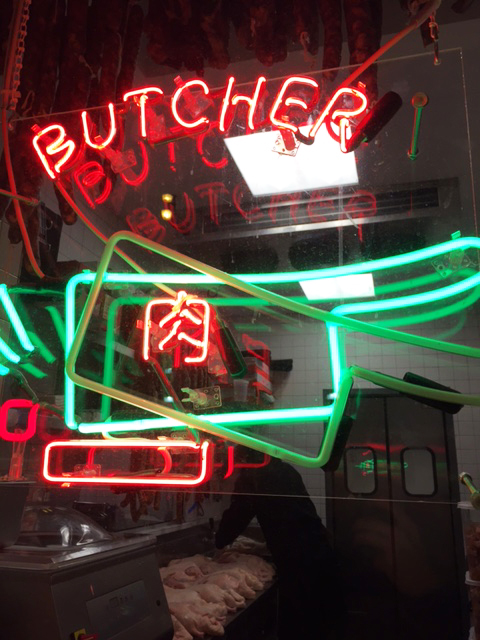 Duck Duck Goat Butcher Window