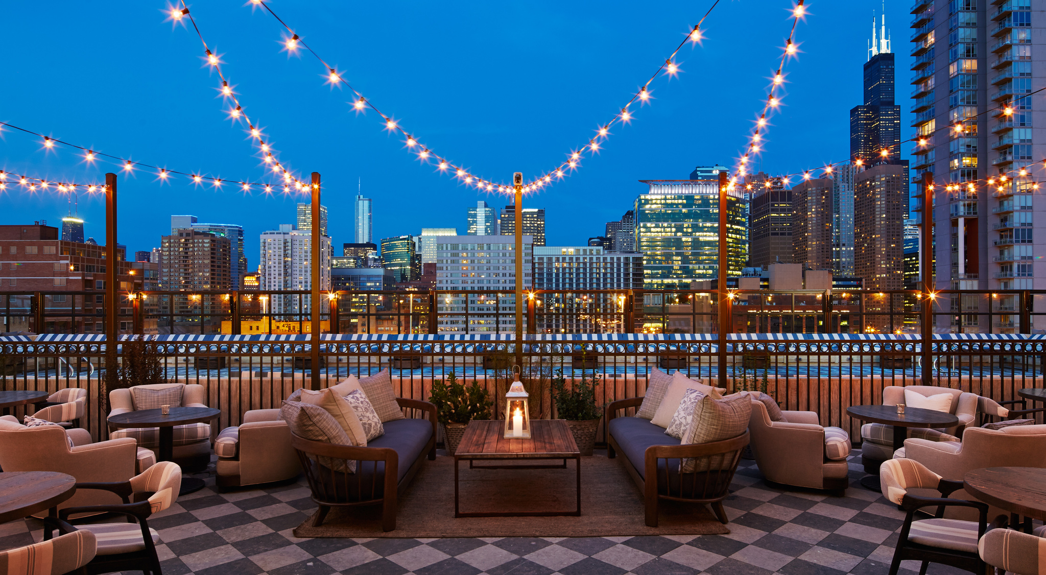 SoHo House Chicago Roof Deck