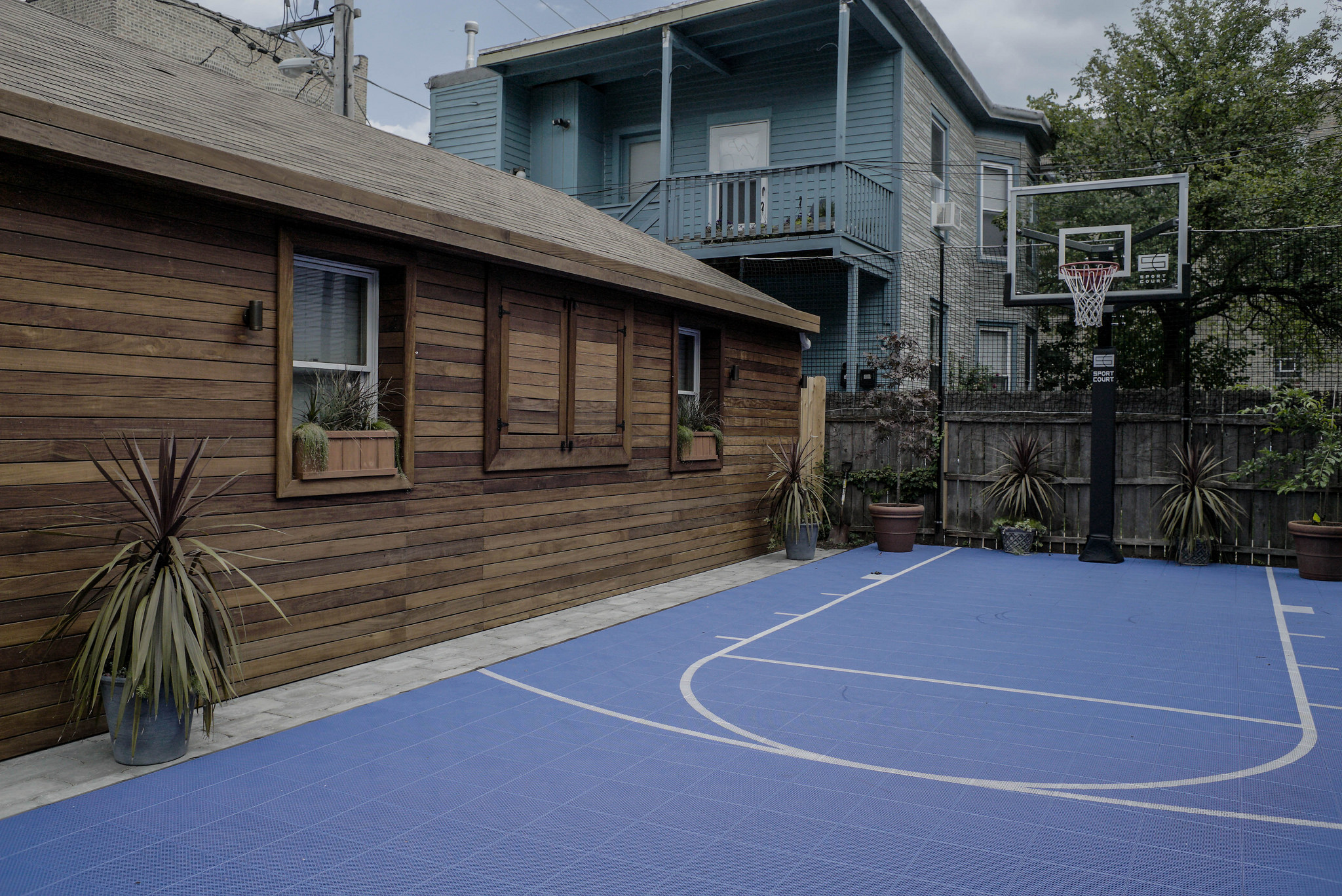 Sport Court by Chicago Roof Deck and Garden