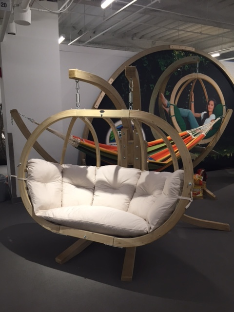 So, I'm pretty obsessed with this swinging seat piece by Byer Of Maine
