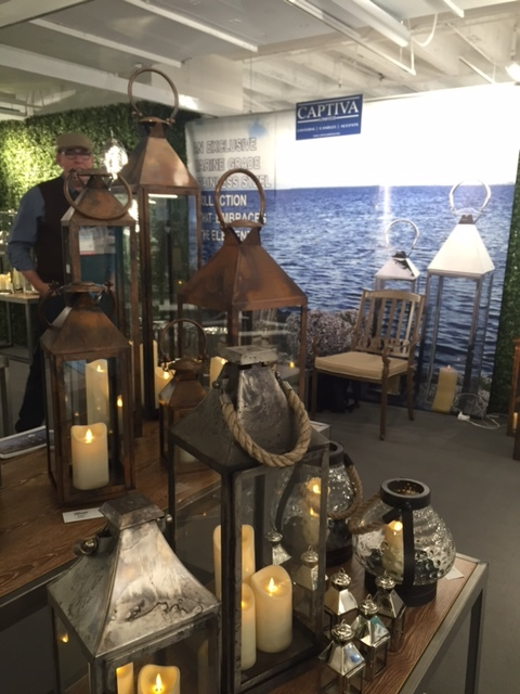 Captiva Limeted had some beautiful marine grade lanterns on display perfect for finishing off your space the right way