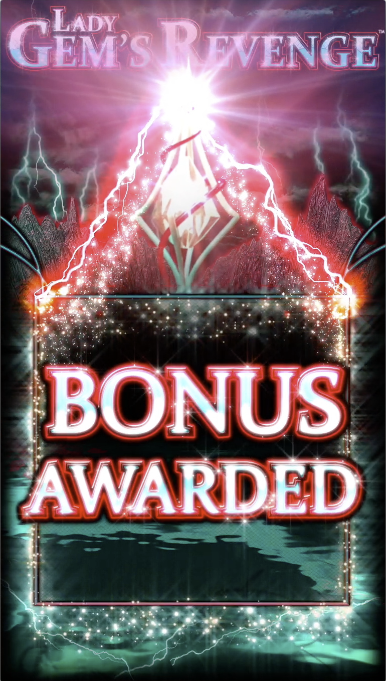 Bonus Awarded!