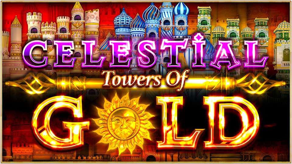 Celestial Towers Of Gold™ - Each spin is a new reel layout!