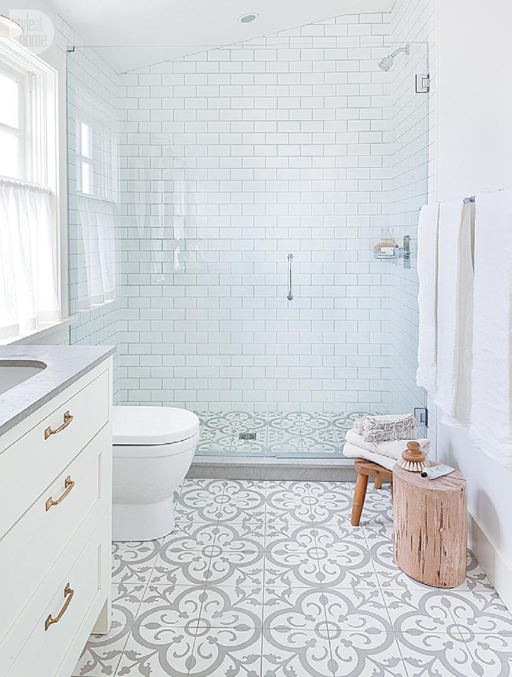 You can get very creative with your tile designs from Style at Home