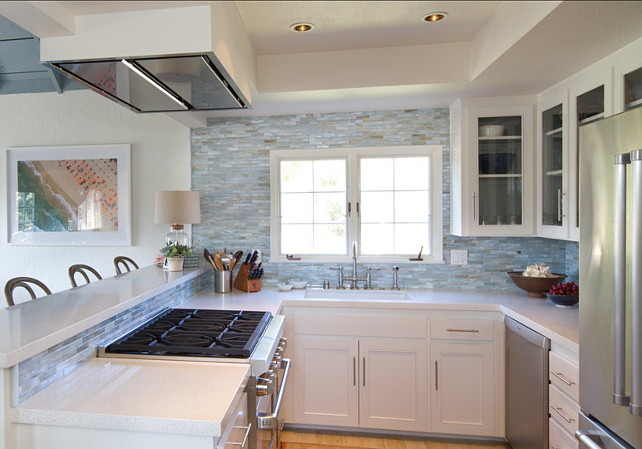 Beach Cottage Kitchen from  Home Bunch