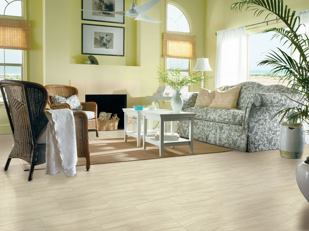 Tidal Sandstone wooden vinyl from  Armstrong