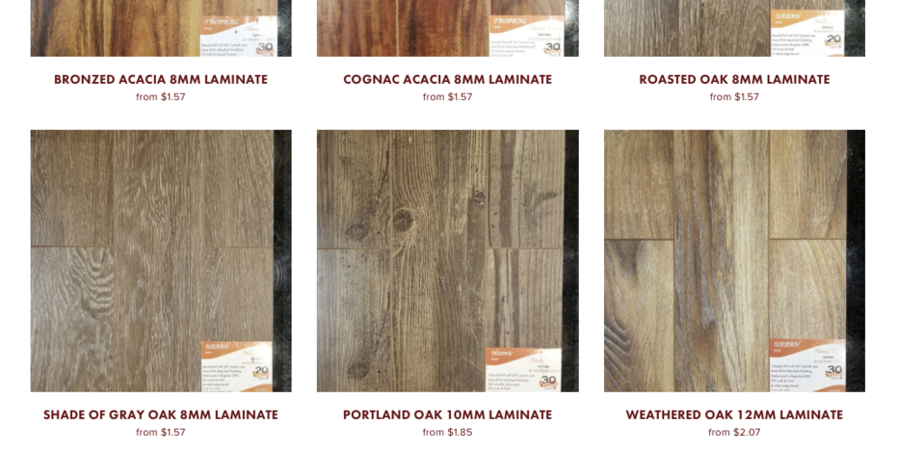 shop our wood laminate online store