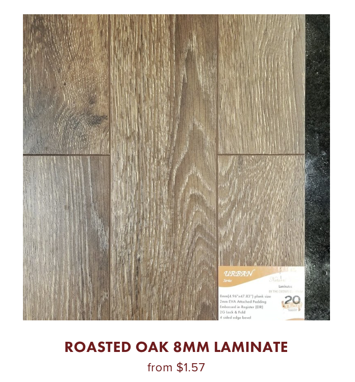 Roasted Oak 8mm Laminate online store