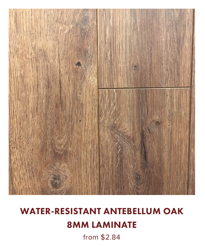 Water Resistant Oak 8mm Laminate for sale on online store for $2.84