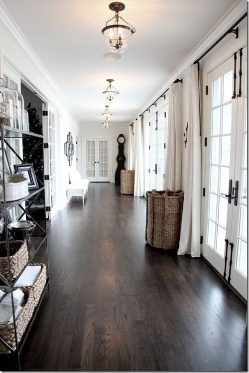 Dark Hardwood Flooring on  Pinterest