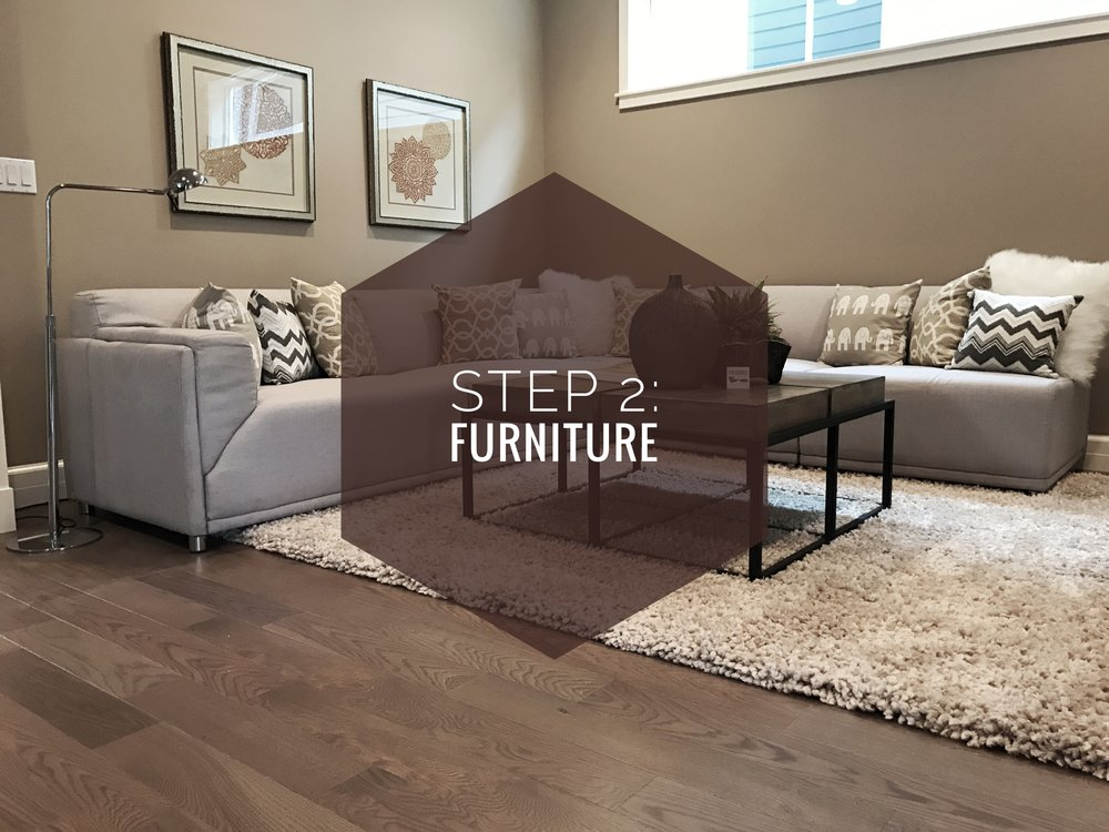 How to make your house a home? Step 2: Furniture