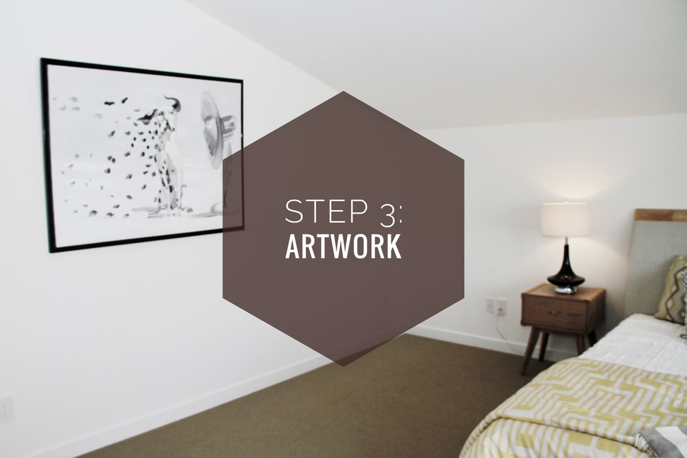 How to make your house a home? Step 3: Artwork