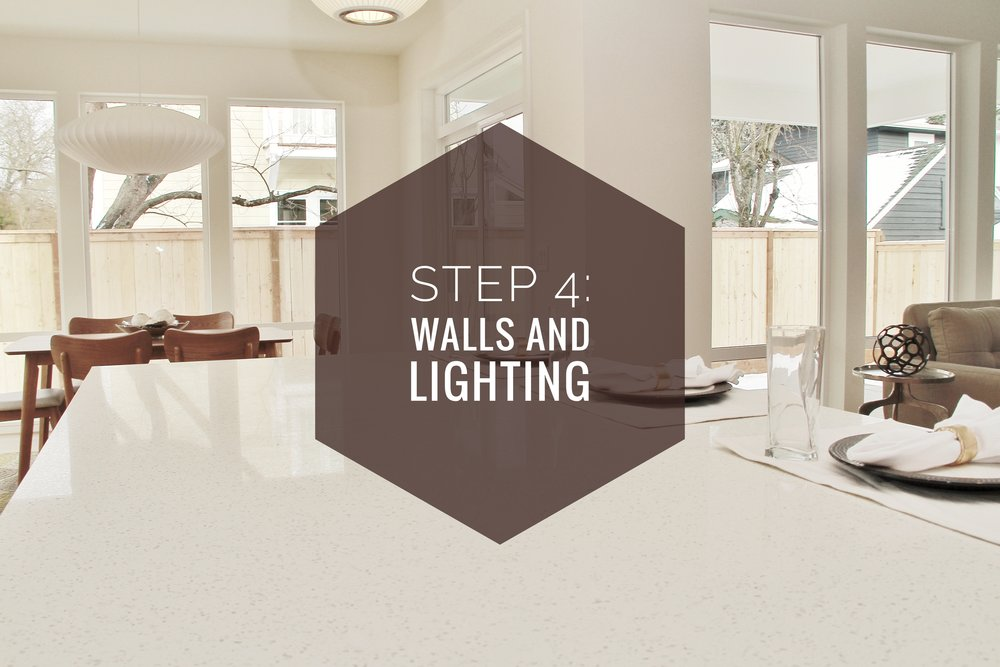 How to make your house a home? Step 4: Walls and Lighting