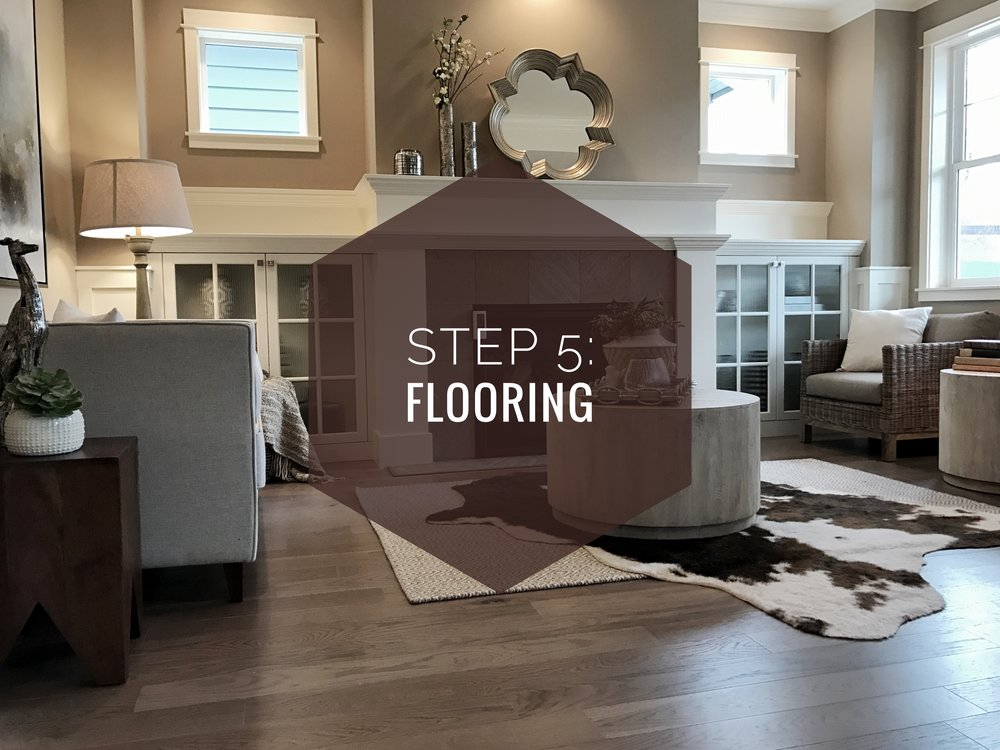 How to make your house a home? Step 5: Flooring