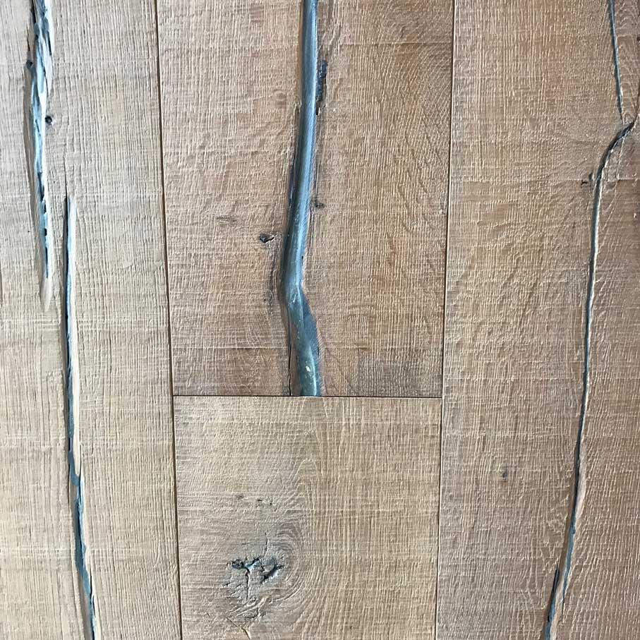Terrazo White European Oak Divine Hardwood & Stone