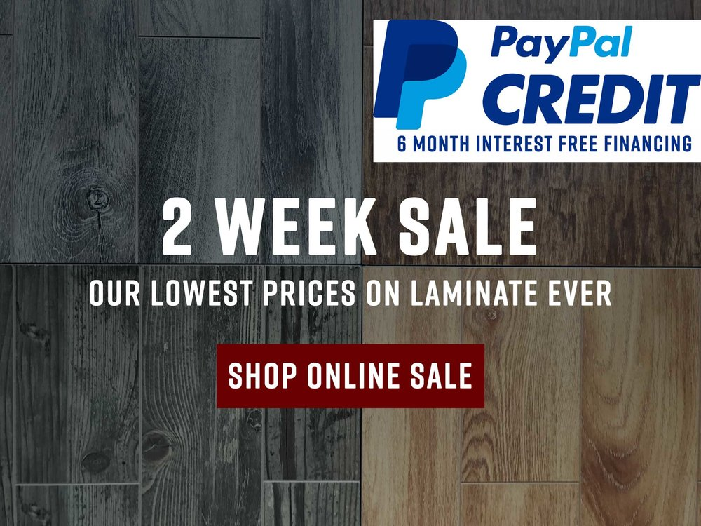 2 Week Sale lowest price on laminate ever Divine Hardwood & Stone