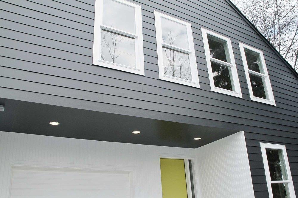 repaint exterior siding