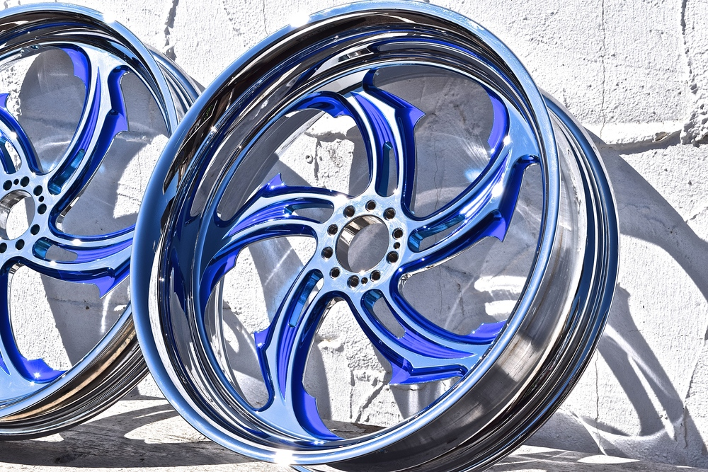 Contrast Candy Chrome Powder Coating